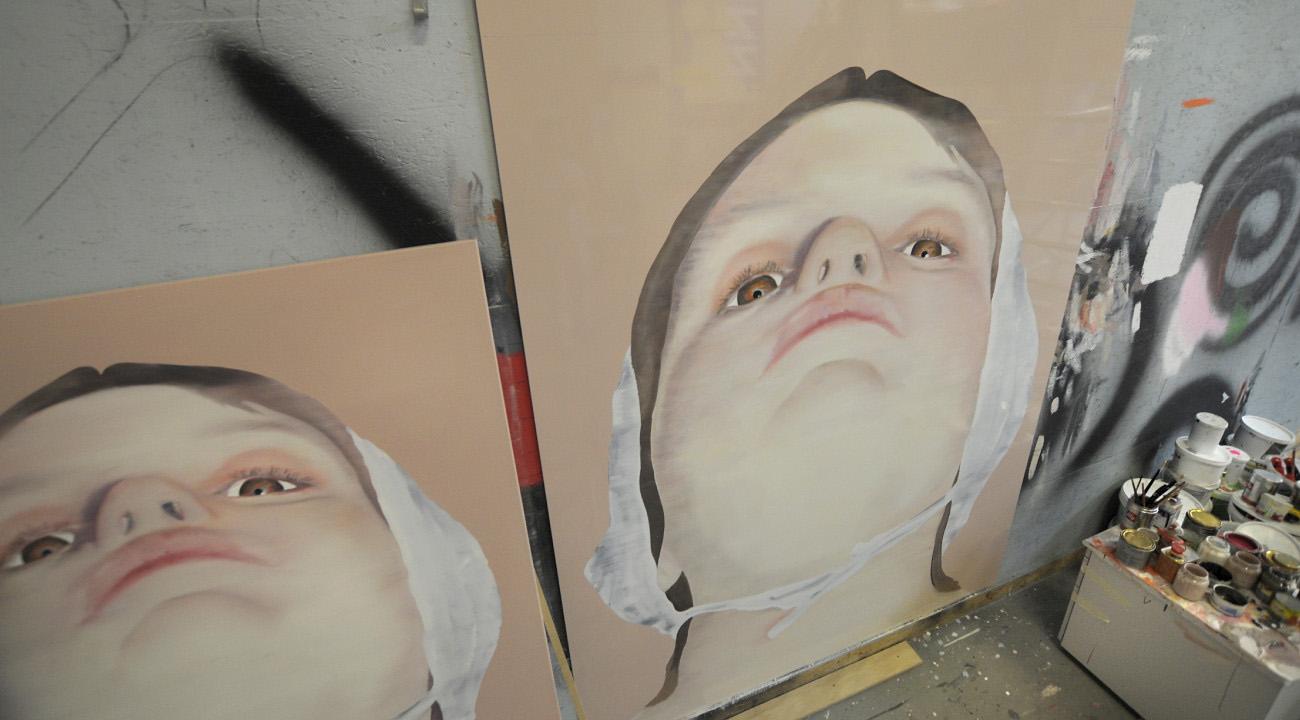 Leo-Mineur-Muurschilderingen-06-Centrum-Beeldende-Kunst-Lampe